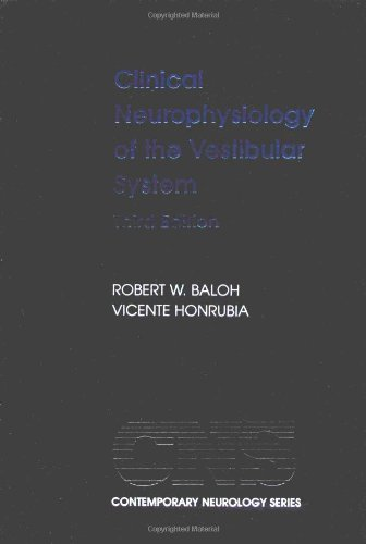 9780195139822: Clinical Neurophysiology of the Vestibular System (Contemporary Neurology Series)