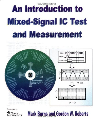 9780195140163: An Introduction to Mixed-Signal IC Test and Measurement (The Oxford Series in Electrical and Computer Engineering)