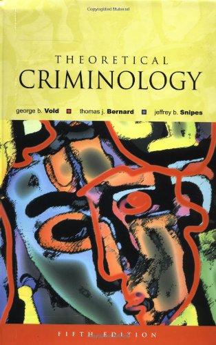 9780195142020: Theoretical Criminology