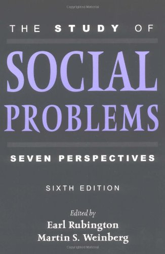 9780195142198: The Study of Social Problems: Seven Perspectives