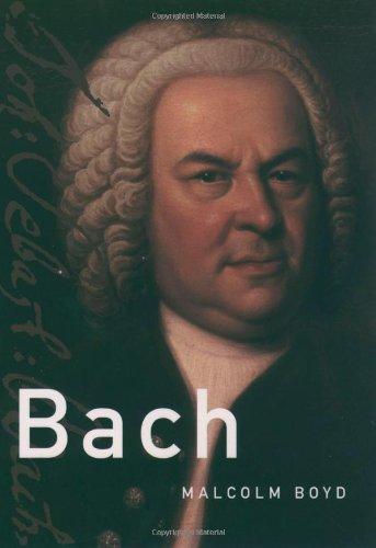 9780195142228: Bach (Master Musicians Series)
