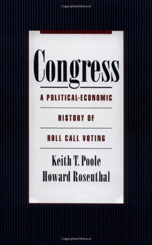 9780195142426: Congress: A Political-Economic History of Roll Call Voting