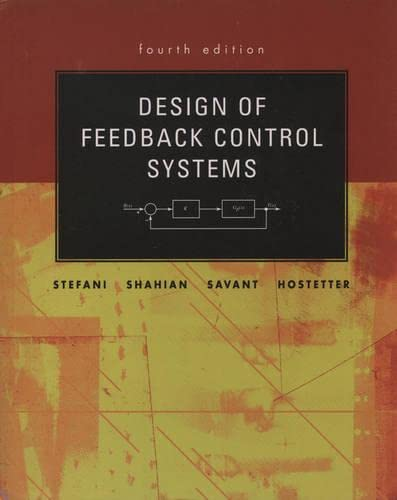 9780195142495: Design of Feedback Control Systems (Oxford Series in Electrical and Computer Engineering)