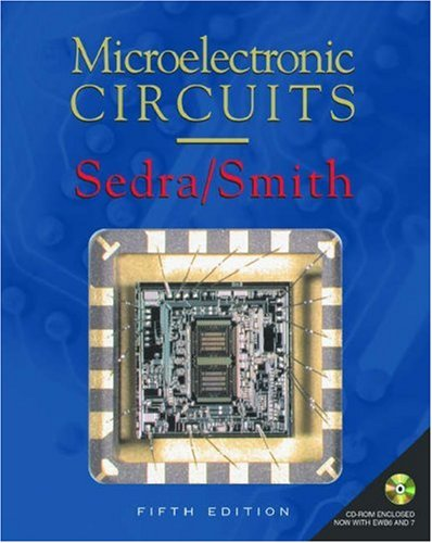 9780195142518: Microelectronic Circuits: includes CD-ROM (The Oxford Series in Electrical and Computer Engineering)