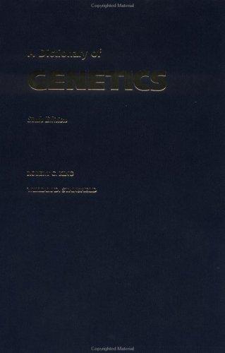 9780195143249: A Dictionary of Genetics