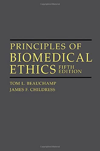 9780195143317: Principles of Biomedical Ethics