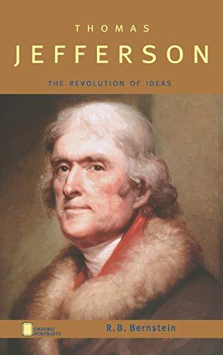 9780195143683: Thomas Jefferson: The Revolution of Ideas (Oxford Portraits)