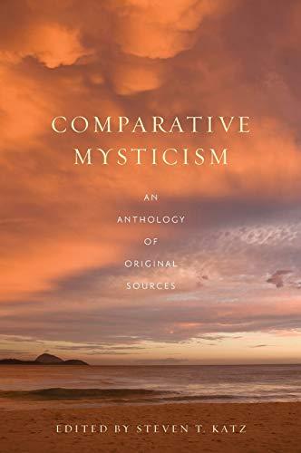 9780195143799: Comparative Mysticism: An Anthology of Original Sources