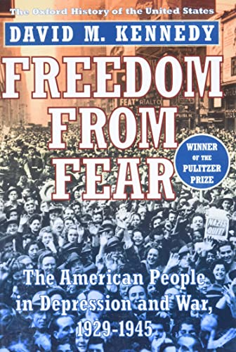9780195144031: Freedom from Fear: The American People in Depression and War, 1929-1945 (Oxford History of the United States)