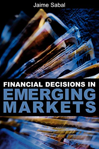 9780195144598: Financial Decisions in Emerging Markets
