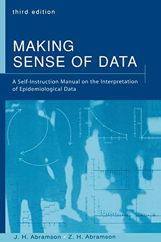 9780195145250: Making Sense of Data: A Self-Instruction Manual on the Interpretation of Epidemiological Data
