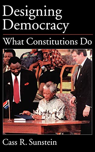 9780195145427: Designing Democracy: What Constitutions Do