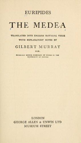 9780195145656: Medea (Greek Tragedy in New Translations)