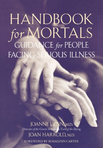 9780195146011: Handbook for Mortals: Guidance for People Facing Serious Illness