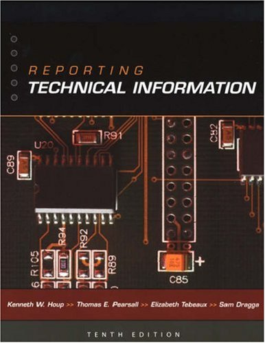 9780195146127: Reporting Technical Information