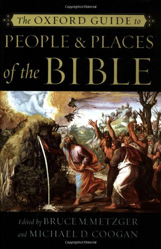 9780195146417: The Oxford Guide to People & Places of the Bible