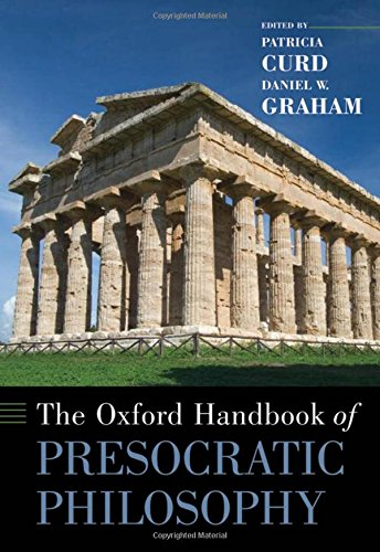 9780195146875: The Oxford Handbook of Presocratic Philosophy (Oxford Handbooks)