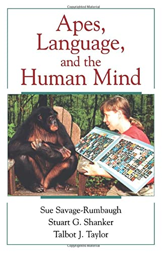 9780195147124: Apes, Language, and the Human Mind