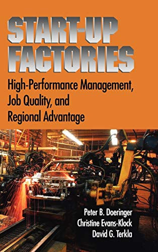 9780195147476: Startup Factories: Leading Edge Practices and Regional Advantage for High-Performing Firms