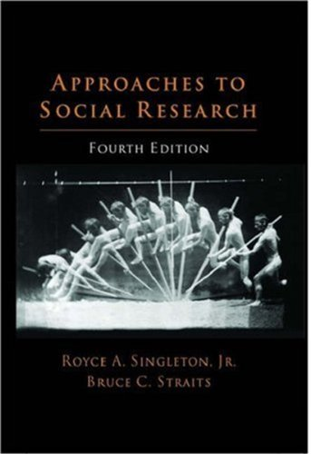 9780195147940: Approaches to Social Research