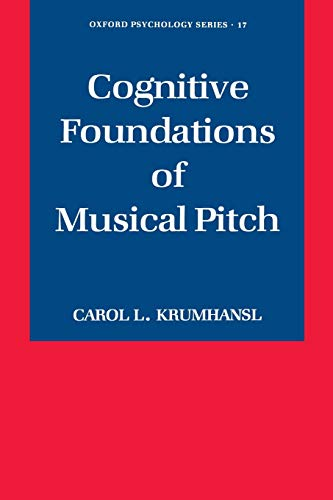 9780195148367: Cognitive Foundations of Musical Pitch (Oxford Psychology Series)