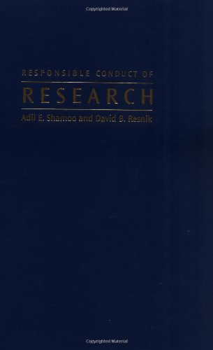 9780195148459: Responsible Conduct of Research
