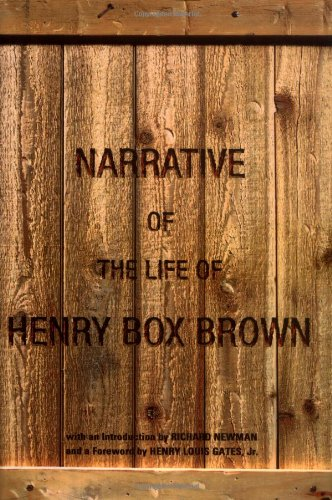 9780195148534: The Narrative of the Life of Henry Box Brown