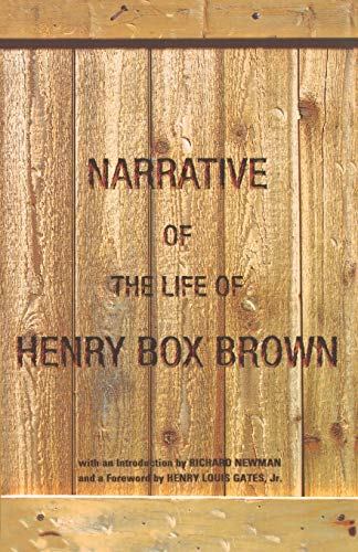 9780195148541: Narrative of the Life of Henry Box Brown
