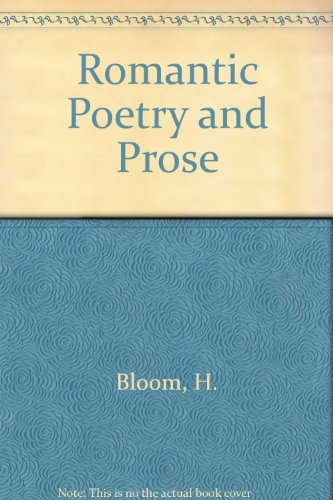 9780195149241: Romantic Poetry and Prose
