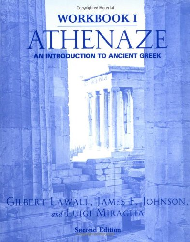9780195149548: Workbook I: Athenaze: An Introduction to Ancient Greek, 2nd Ed.: Workbook 1