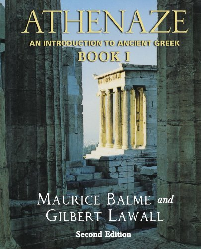 9780195149562: Athenaze: Book I: An Introduction to Ancient Greek: 1