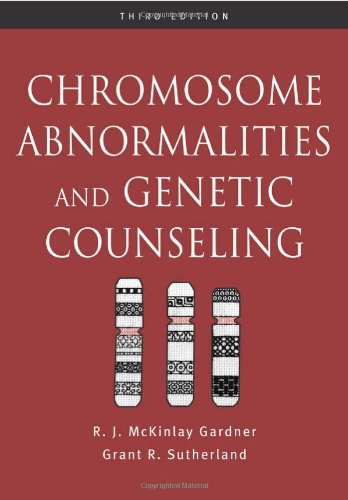 9780195149609: Chromosome Abnormalities and Genetic Counseling (Oxford Monographs on Medical Genetics)