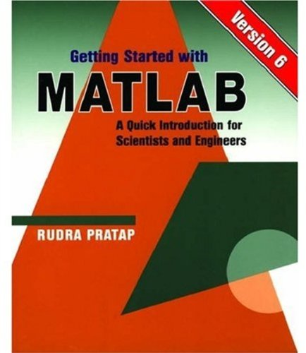 Getting Started With MATLAB: Version 6 : Pratap, Rudra