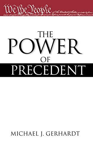 9780195150506: The Power of Precedent