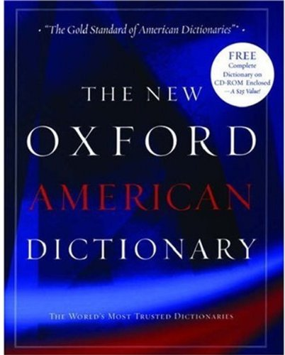 9780195150605: The New Oxford American Dictionary: Book and CD-ROM package (New Look for Oxford Dictionaries)