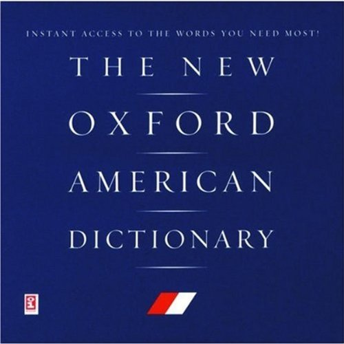 9780195150612: The New Oxford American Dictionary on CD-ROM
