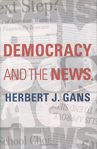 9780195151329: Democracy and the News
