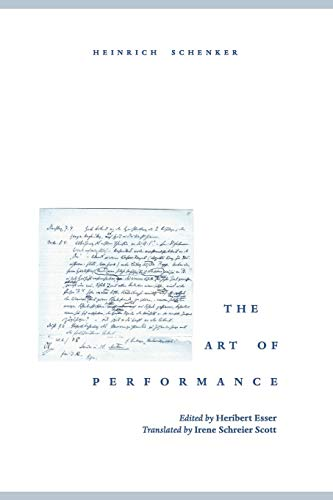 9780195151510: The Art of Performance