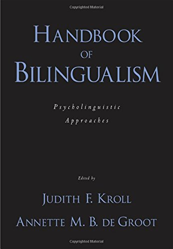 9780195151770: Handbook of Bilingualism: Psycholinguistic approaches