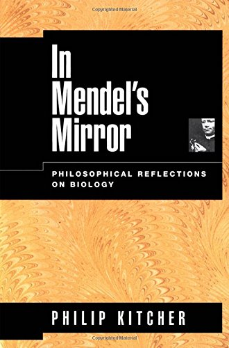9780195151794: In Mendel's Mirror: Philosophical Reflections on Biology