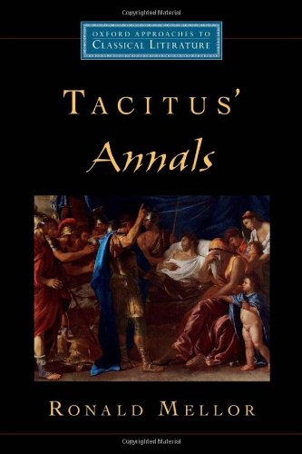 9780195151923: Tacitus' Annals (Oxford Approaches to Classical Literature)