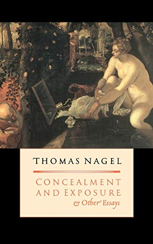9780195152937: Concealment and Exposure: And Other Essays
