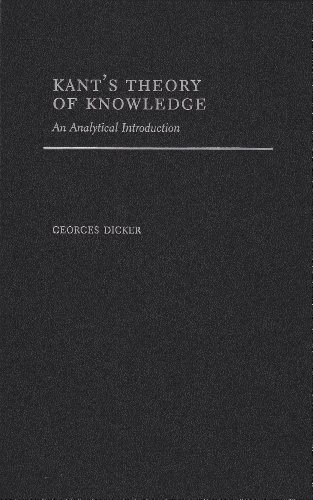 9780195153064: Kant's Theory of Knowledge: An Analytical Introduction