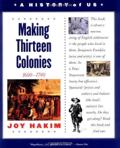 9780195153224: A History of US, Book 2: Making Thirteen Colonies (History of US)
