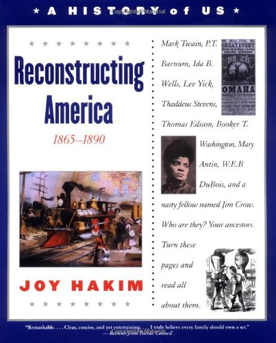 9780195153323: A History of US: Book 7: Reconstructing America 1865-1890
