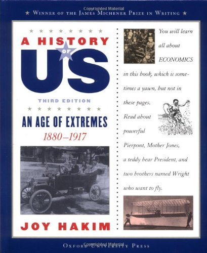 9780195153330: A History of US: Book 8: An Age of Extremes 1880-1917