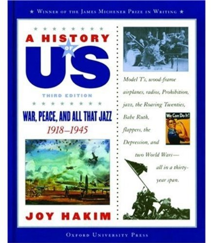 9780195153354: War, Peace, and All That Jazz