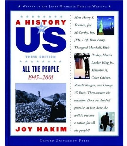 9780195153378: A History of US: Book 10: All the People 1945-2001