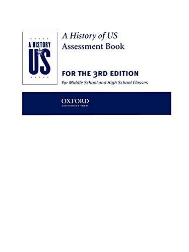A History of US: Assesment Books 1-10: Hakim, Joy