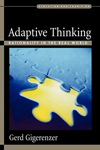9780195153729: Adaptive Thinking: Rationality in the Real World (Evolution and Cognition Series)